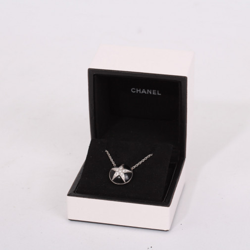 "Necklace and pendant ""Comète"""