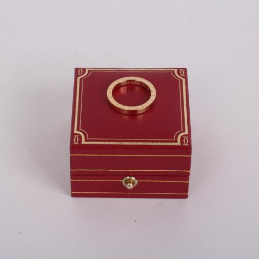 Ring Lanières yellow gold 18k