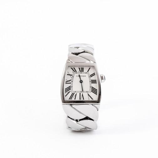 Lady's steel watch La Dona large model