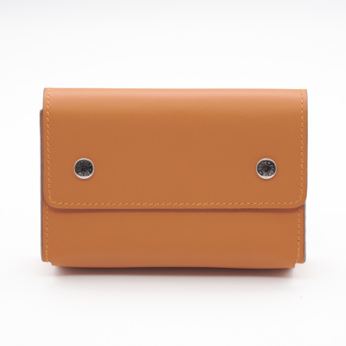 Orange Swift Leather Travel Watercolor Box