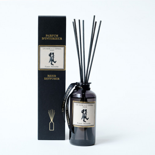 Home reed diffuser The Nutcracker with natural rattan sticks (Sold in sets of two diffusers)