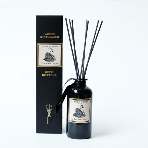 Home reed diffuser Swan Lake with natural rattan sticks (Sold in sets of two diffusers)
