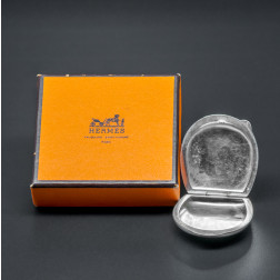 Silver Pillbox Pendant