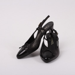 Pair of black shoes size 36