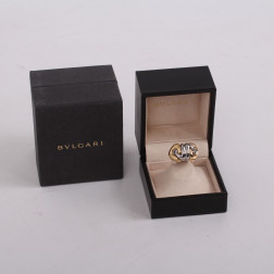 Imposing ring Naturalia gold 18k