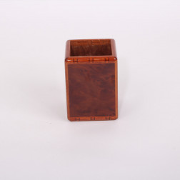 Pen box in burr elm