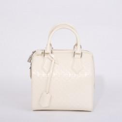 Speedy bag patent Damier fashion show 2013