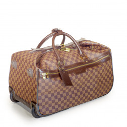 Eole 50 trolley travel bag in Damier canvas