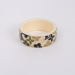 Inclusions khaki bracelet large model