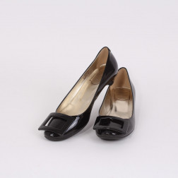 Black lady's shoes 35 1/2 size