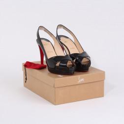 Pair of stilettos open toes Saint-Tropez P.39