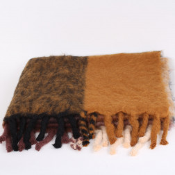 Very large Plaid 100% mohair