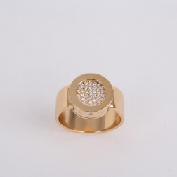 Ring La Ronde yellow gold 18k and diamonds