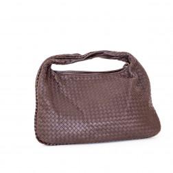 Hobo handbag large model  Intrecciato leather