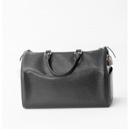 Handbag Speedy 35 black epi leather