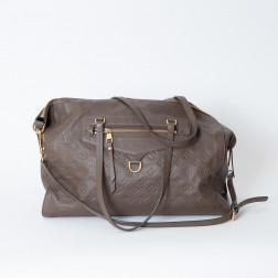 Handbag Lumineuse large model Empreinte Ombre leather