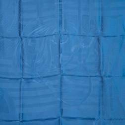 Giant scarf damasked silk Coaching