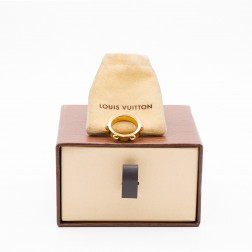 Ring Clou yellow gold 18k et diamond
