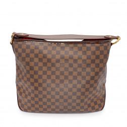 Handbag Delightful M.M. en toile Damier Ebène