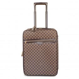 Cabin suitcase Pégase 55  Damier Ebène canvas