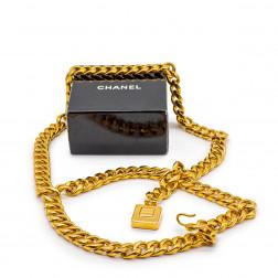 Gold metal chain belt Perfume bottle N ° 5