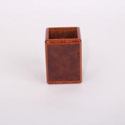Pen box in burr elm
