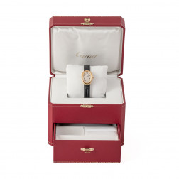 Lady's watch Baignoire large model yellow gold 18k