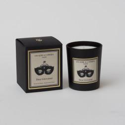 Bougie parfumée DON GIOVANNI - Encens de Venise d'après l'Opéra de Mozart. (Vendu par lot de 2 bougies)
